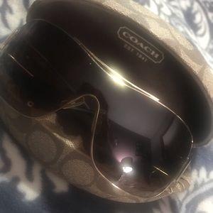 Coach hazel tortoise sunglasses s563